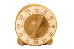 Egg timer. Set on 5 minutes Stock Photography