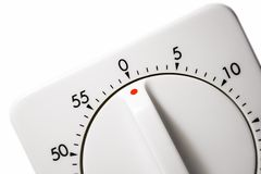 Egg Timer (Close View) Royalty Free Stock Photo