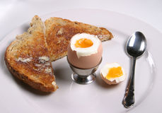 Egg & Toast Royalty Free Stock Images