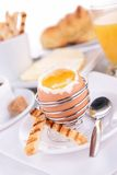 Egg and toast Royalty Free Stock Images