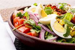 Egg and tomato salad Royalty Free Stock Photography