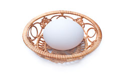 Egg on a tray Royalty Free Stock Photography