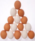 Egg Triangle Royalty Free Stock Image