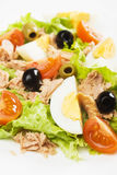 Egg and tuna salad Stock Photo