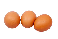 Egg. On a white background Royalty Free Stock Photography