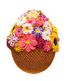 Egg With Beads Royalty Free Stock Photography