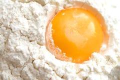 Egg yolk Stock Photo