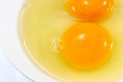 Egg yolk Stock Images