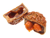 Egg Yolk Mooncake Stock Image