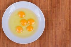 Egg Yolks Stock Photography