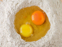 Egg Yolks Royalty Free Stock Images