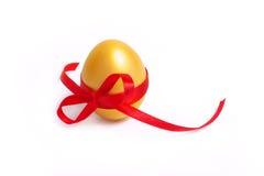 egg złoto Zdjęcia Royalty Free