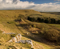Eggardon Hill, Dorset, UK Stock Photo