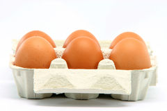 Eggbox Royalty Free Stock Photography