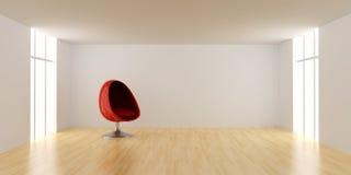 eggchair δωμάτιο Στοκ φωτογραφίες με δικαίωμα ελεύθερης χρήσης
