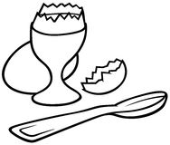 Eggcup Royalty Free Stock Photos