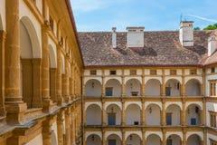 Eggenberg balkon Zdjęcie Royalty Free