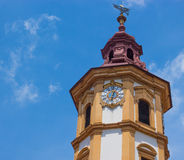 Eggenberg Palace Bell Tower Stock Photography