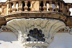 Eggenberg castle- architectural details Royalty Free Stock Photo
