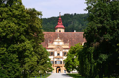 The Eggenberg castle in Graz Royalty Free Stock Images