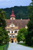 The Eggenberg castle in Graz Royalty Free Stock Image