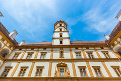 Eggenberg Palace Façade Symmetry Stock Image