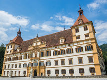 Eggenberg Palace Facade in Graz Austria Stock Photo