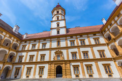 Eggenberg Palace Interior Courtyard Stock Images