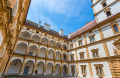 Eggenberg Palace Interior Façade Royalty Free Stock Photo