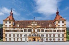 Eggenberg slott i Graz Österrike Arkivfoto