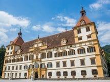 Eggenbergpaleis Graz stock foto