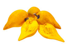 Eggfruit. On a white background Royalty Free Stock Images