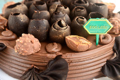 Eggless蛋糕 库存图片