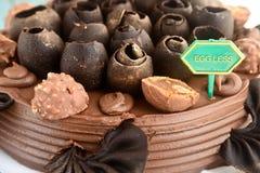 Eggless cake Stock Image