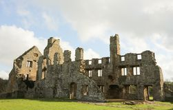 Egglestone Abbey is an abandoned Premonstratensian Abbey on the southern bank of the River Tees. royalty free stock photography