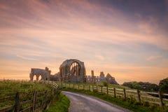 Egglestone Abbey Stock Photo