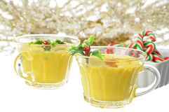 Eggnog Stock Photos