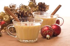 Eggnog Royalty Free Stock Photo