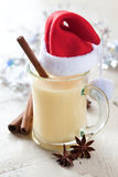 Eggnog for christmas Stock Image