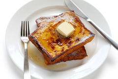 Eggnog french toast Royalty Free Stock Image