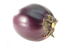 Eggplant. Fresh eggplant isolated on white background royalty free stock photo