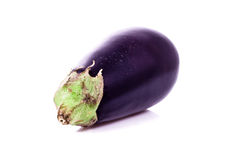Eggplant. On white background Stock Photos