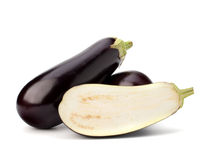 Eggplant or aubergine vegetable Royalty Free Stock Image