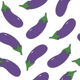 Eggplant background Stock Photography