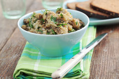 Eggplant caviar Royalty Free Stock Photography