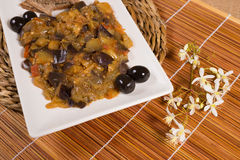 Eggplant caviar Royalty Free Stock Images