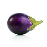 Eggplant. Close-up image of eggplant on white background stock photo