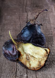 Eggplant cooked on fire Royalty Free Stock Photos