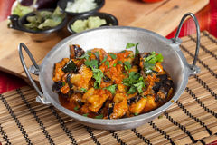 Eggplant dish Royalty Free Stock Photography