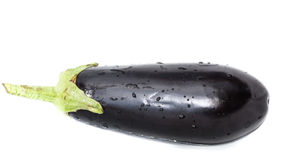 Eggplant floating Stock Photo